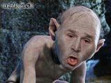 George W. Bush als Gollum