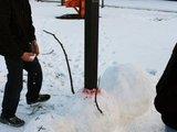 Der arme Schneemann