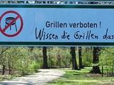 Verbotene Grillen