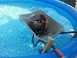 Pool aufheizen