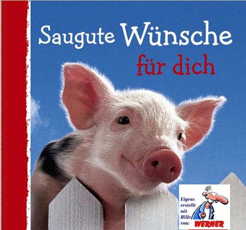 Ein Haufen Glücksschweine