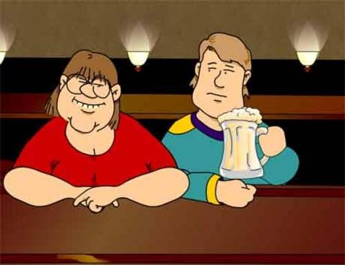 Date mit ein paar Bierchen